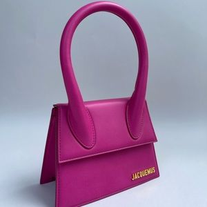 Jacquemus Le Chiquito Moyen Bag in Pink